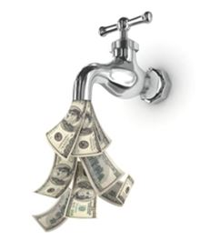 money from faucet