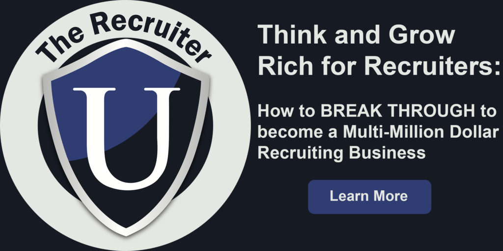 How to grow a recruiting firm and start hiring recruiters