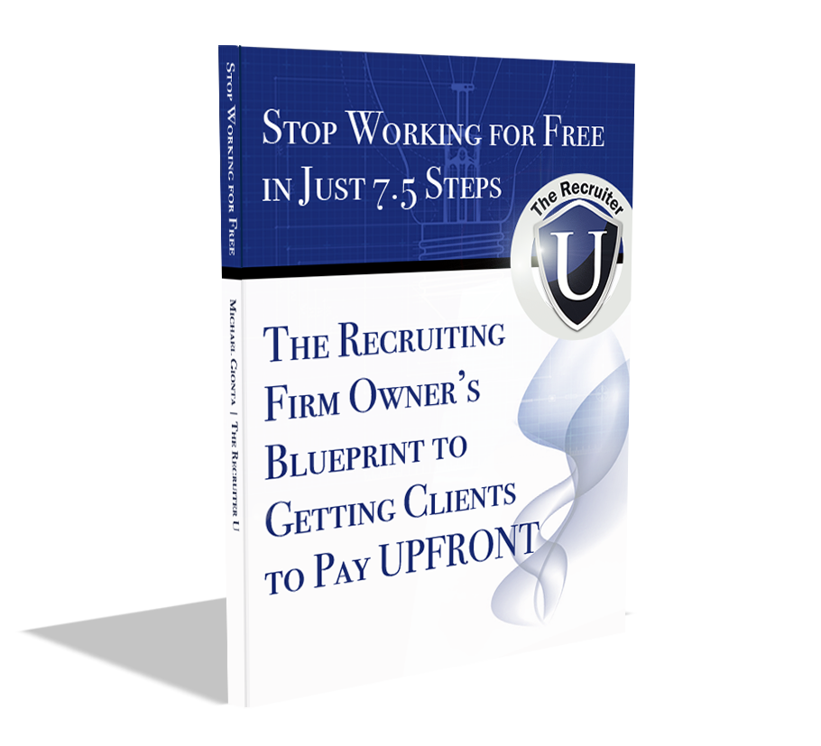 Stop working for free book image.